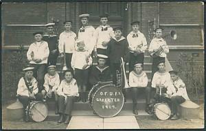 FDF orkester fra 1917